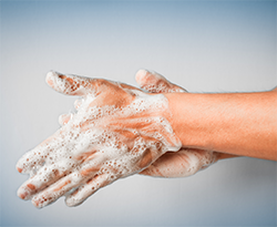 Wash your hands to stop the spread of Coronavirus