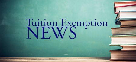 Officers Tuition Exemption News